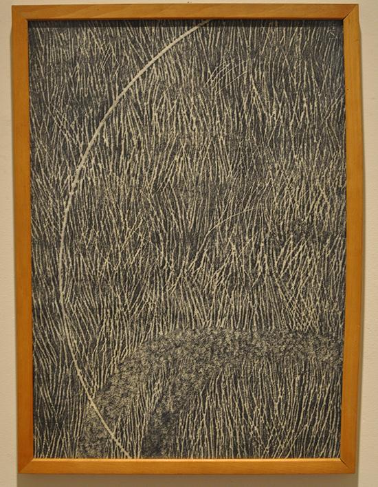 Alberto Carneiro | Os Caminhos da Floresta, 1983 | 60x84 cm | Grafite sobre papel fabriano | quarto desenho da série de sete