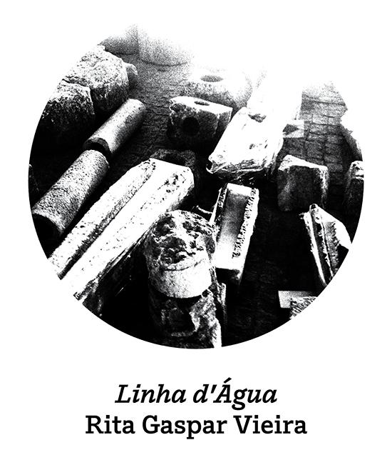 Imagem do círculo da exposição Linha d'Água | Rita Gaspar Vieira