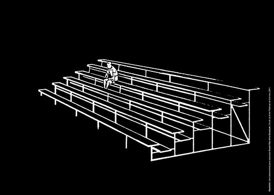 Nuno Sousa Vieira | Explorador, 2014 | obra desenvolvida para a exposição Ensaio Para Uma Exposição | Círculo de Artes Plásticas de Coimbra
