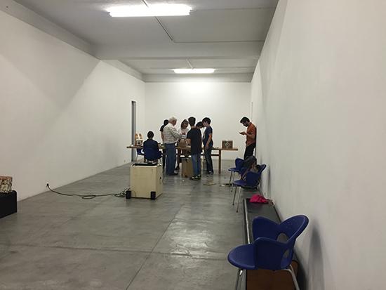 Oficina Recolocar o Olhar - Orientada por Jorge Neves